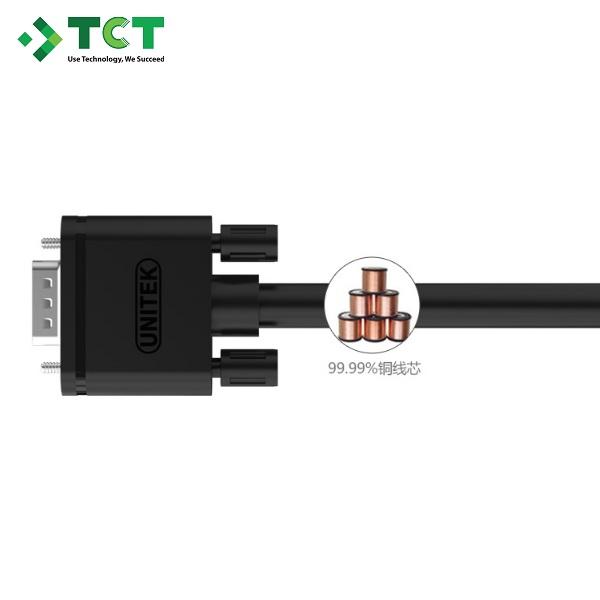 Cáp truyền tín hiệu VGA Unitek