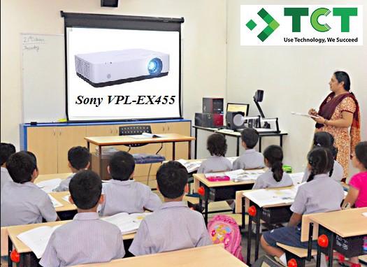 Máy chiếu Sony VPL-EX455 dòng máy chiếu dành cho trường học