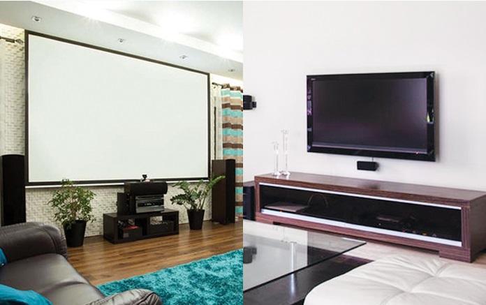 Xem máy chiếu hay tivi có hại mắt hơn?