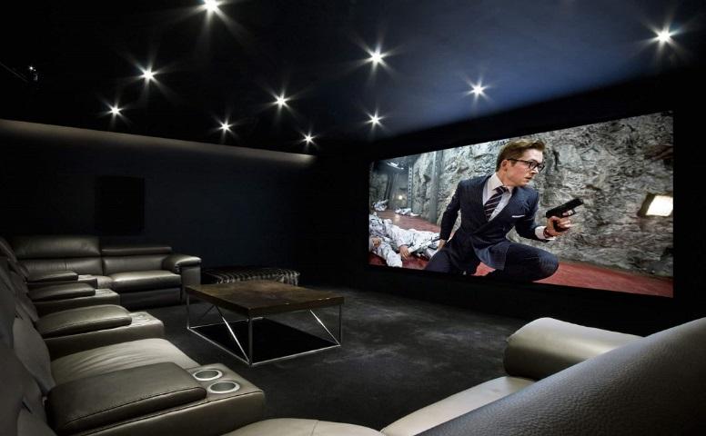 máy chiếu phim gia đình