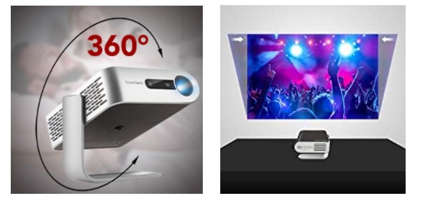 Khả năng chiếu xoay 360-độ